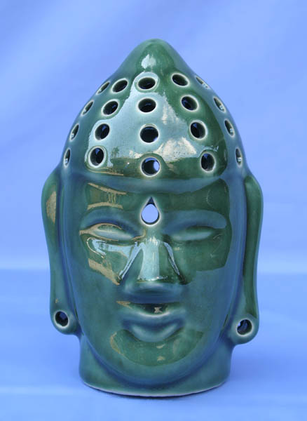 Ceramic Buddha Oil / Incense Holder -- inc-301