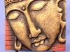 Wooden Buddha Relief -- bpr-009