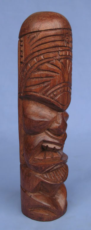 Suar Wood Tiki Statue -- Wholesale Bali Wood Carving: img_2947