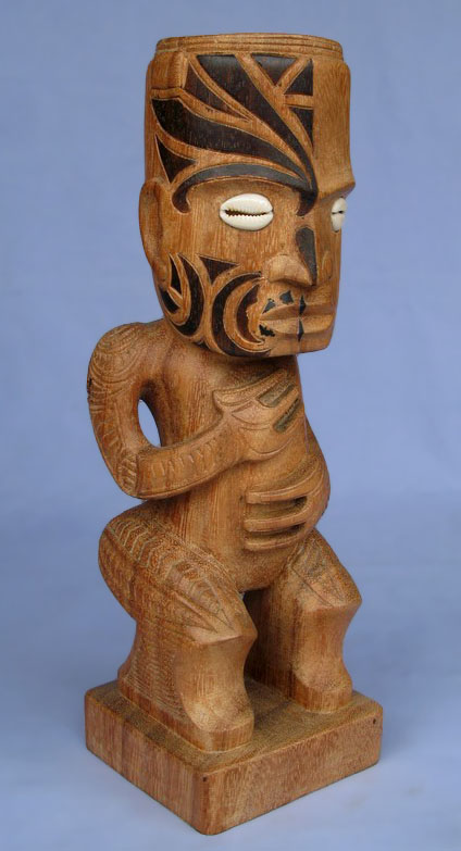 Suar Wood Tiki Statue -- Wholesale Bali Wood Carving: img_2966
