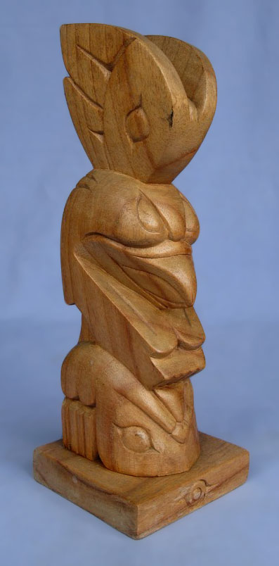 Suar Wood Tiki Statue -- Wholesale Bali Wood Carving: img_3010