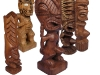 Suar Wood Tiki Statue -- Wholesale Bali Wood Carving: tiki-time