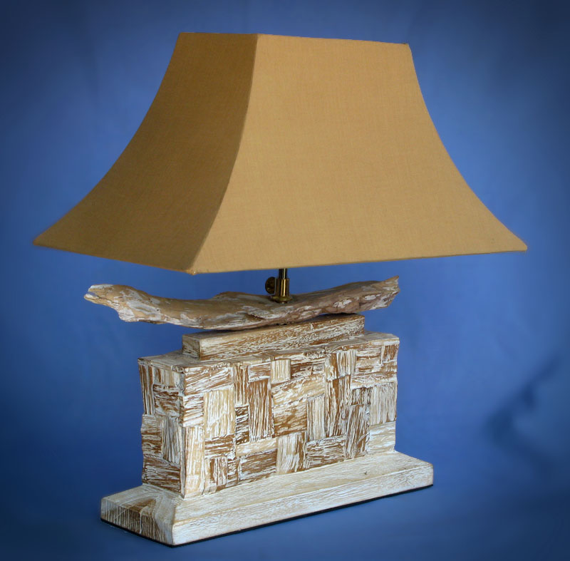 Driftwood, Liana or Coffee Root lamps & decor -- lasj-2148x