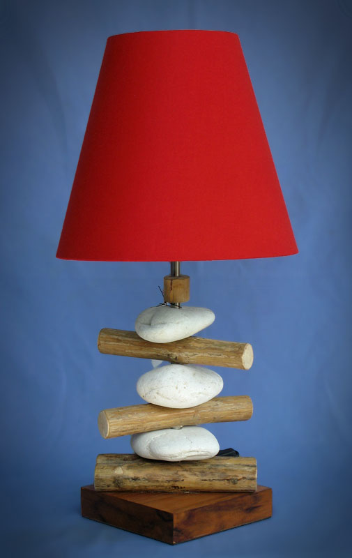 Driftwood, Liana or Coffee Root lamps & decor -- lasj-2173x