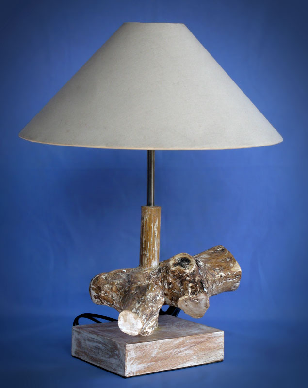 Driftwood, Liana or Coffee Root lamps & decor -- lasj-2181x