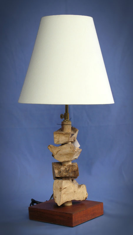 Driftwood, Liana or Coffee Root lamps & decor -- lasj-2198x
