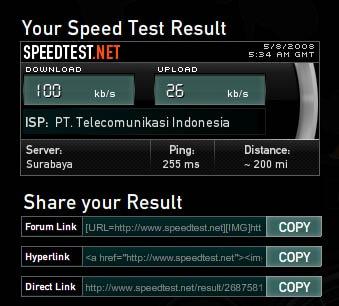 nas speed test
