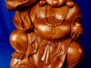 Suar Wood Buddha Statue -- bud-013