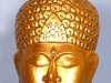 Wooden Buddha Wall Decor -- gbh-06