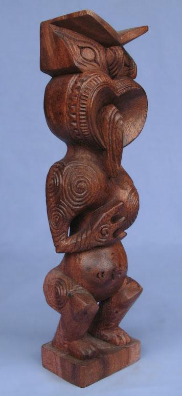 Suar Wood Tiki Statue -- Wholesale Bali Wood Carving: img_2968