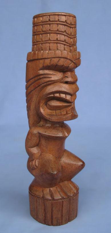 Suar Wood Tiki Statue -- Wholesale Bali Wood Carving: img_2990