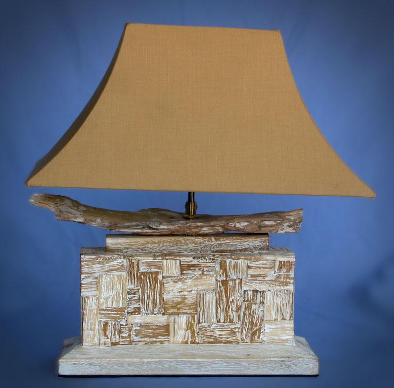 Driftwood, Liana or Coffee Root lamps & decor -- lasj-2148