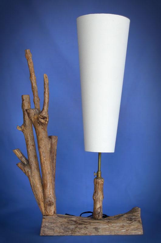 Driftwood, Liana or Coffee Root lamps & decor -- lasj-2156
