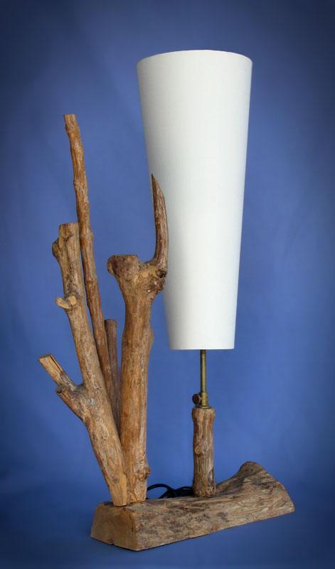 Driftwood, Liana or Coffee Root lamps & decor -- lasj-2156x