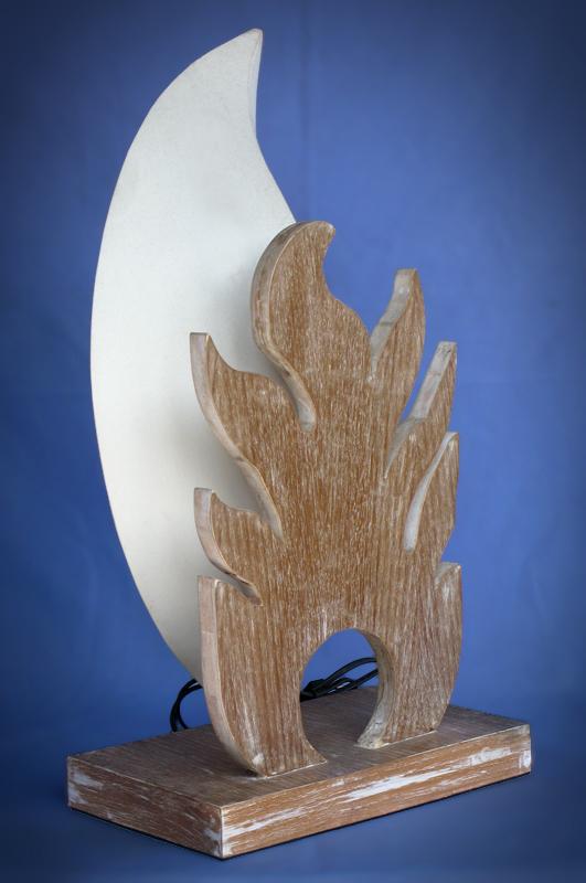 Driftwood, Liana or Coffee Root lamps & decor -- lasj-2177x