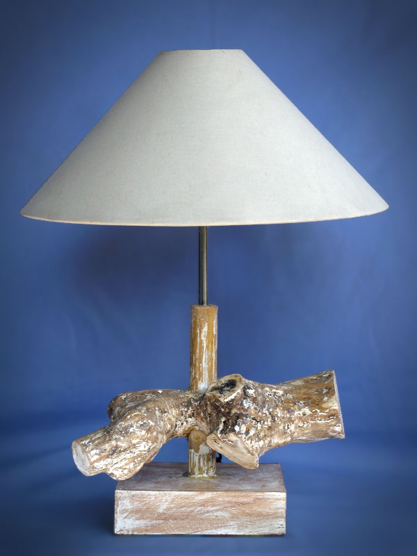 Driftwood, Liana or Coffee Root lamps & decor -- lasj-2181