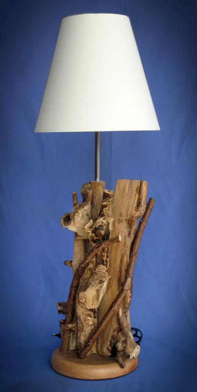 Driftwood, Liana or Coffee Root lamps & decor -- lasj-2185