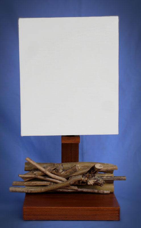 Driftwood, Liana or Coffee Root lamps & decor -- lasj-2187