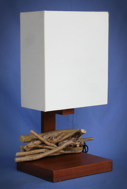 Driftwood, Liana or Coffee Root lamps & decor -- lasj-2187x