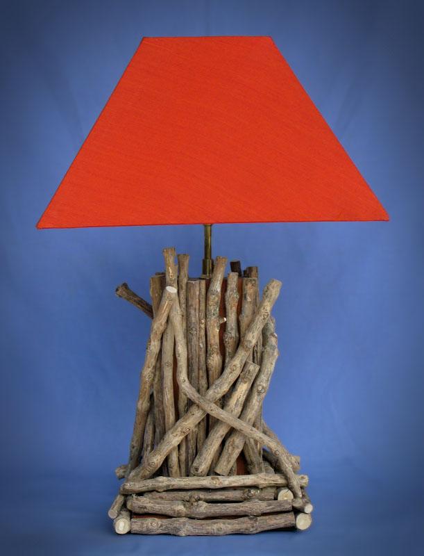 Driftwood, Liana or Coffee Root lamps & decor -- lasj-2191