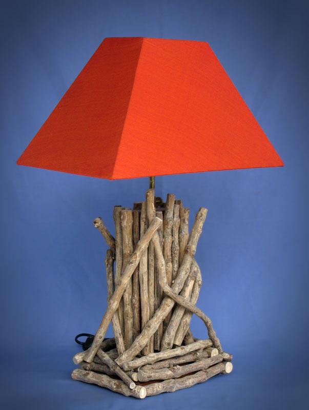 Driftwood, Liana or Coffee Root lamps & decor -- lasj-2191x
