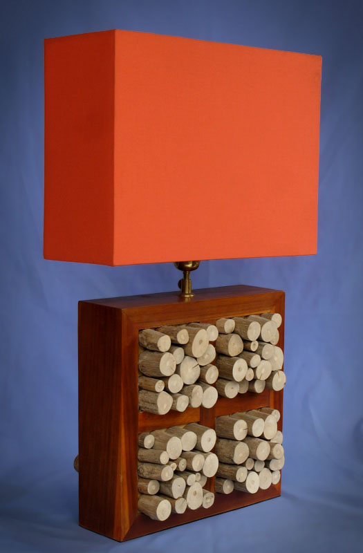 Driftwood, Liana or Coffee Root lamps & decor -- lasj-2206x